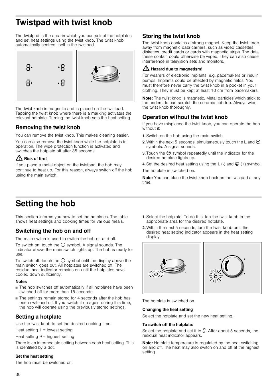 Twistpad With Twist Knob Removing The Twist Knob Risk Of Fire
