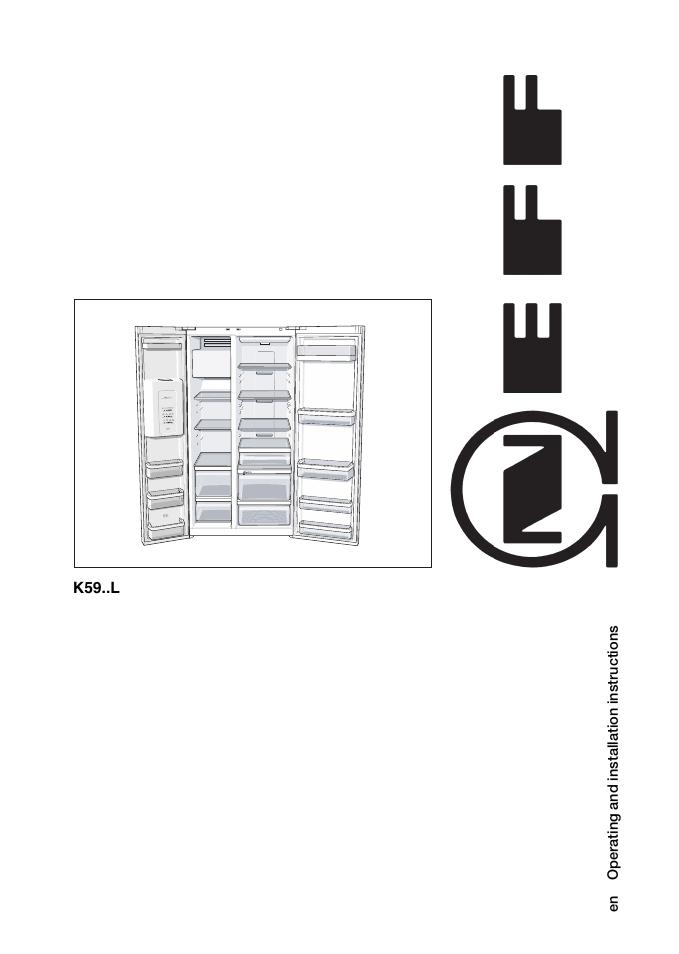 neff k5920l0gb user manual