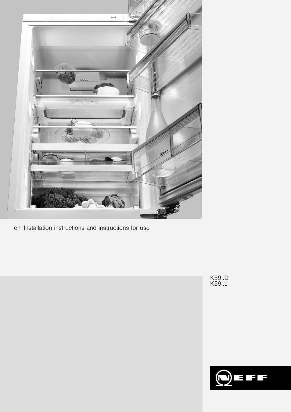 neff k5920l0gb user manual 26 pages rh manualsdir com Whirlpool Dishwasher Manual Repair Manuals