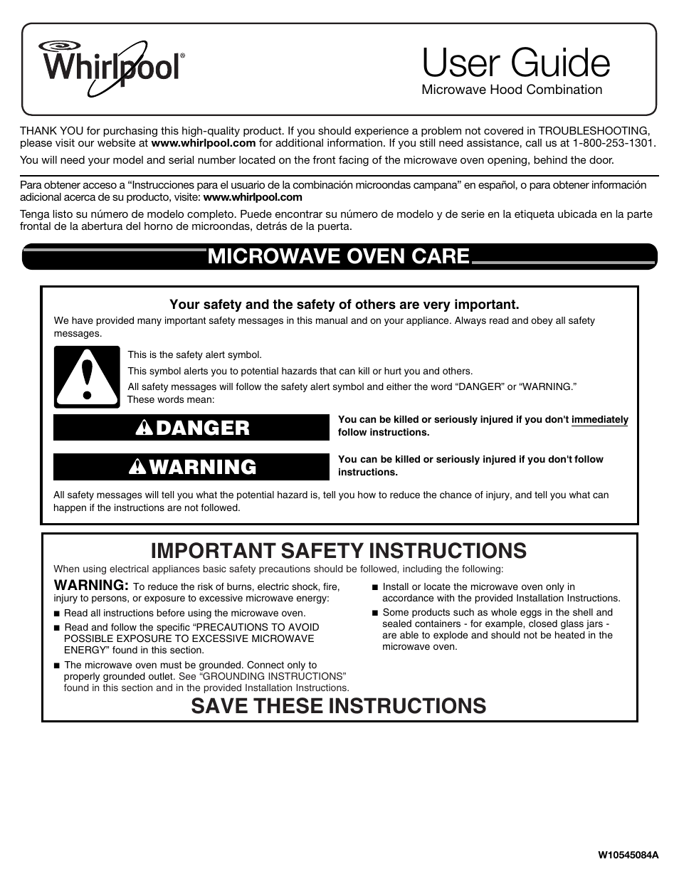 whirlpool wmh53520cs user manual 8 pages rh manualsdir com Whirlpool Gold Microwave Whirlpool Washer