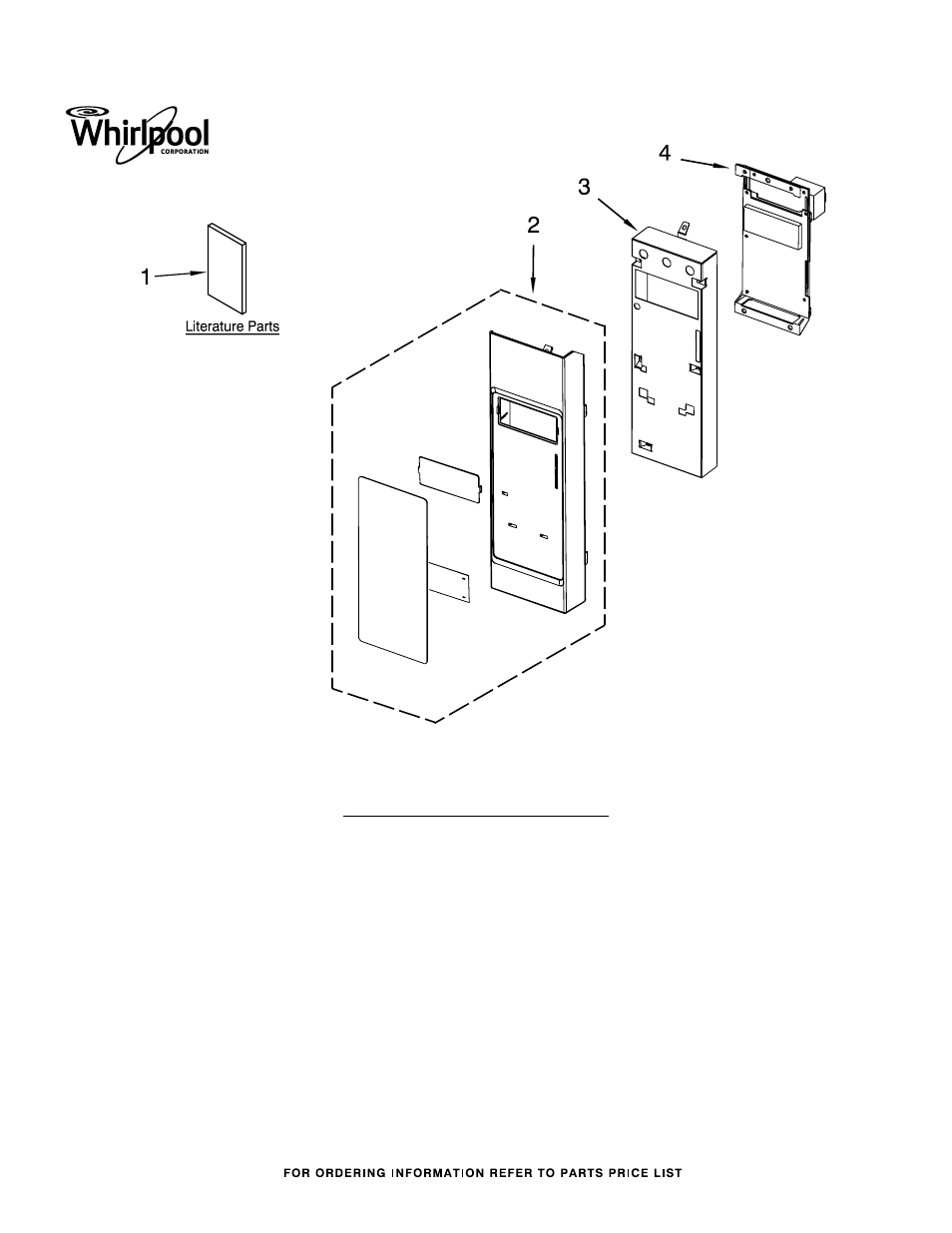 Whirlpool Wmh31017as User Manual 7 Pages Control Panel Circuit Diagram And Parts List For Sharp Microwaveparts