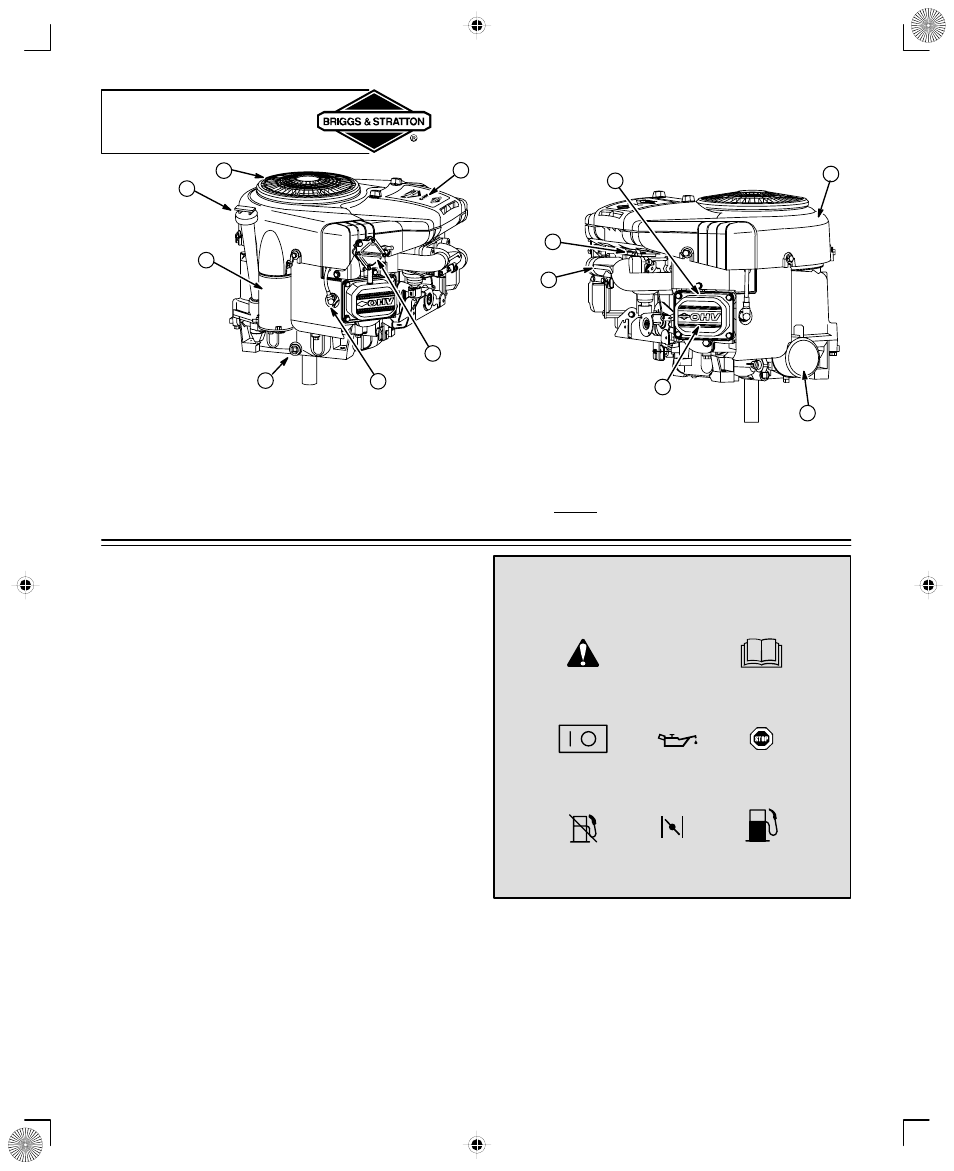 10 0 Briggs Stratton Motor Wiring Diagram Electrical Hp And Engine Parts 406700 User Manual Page 6 20