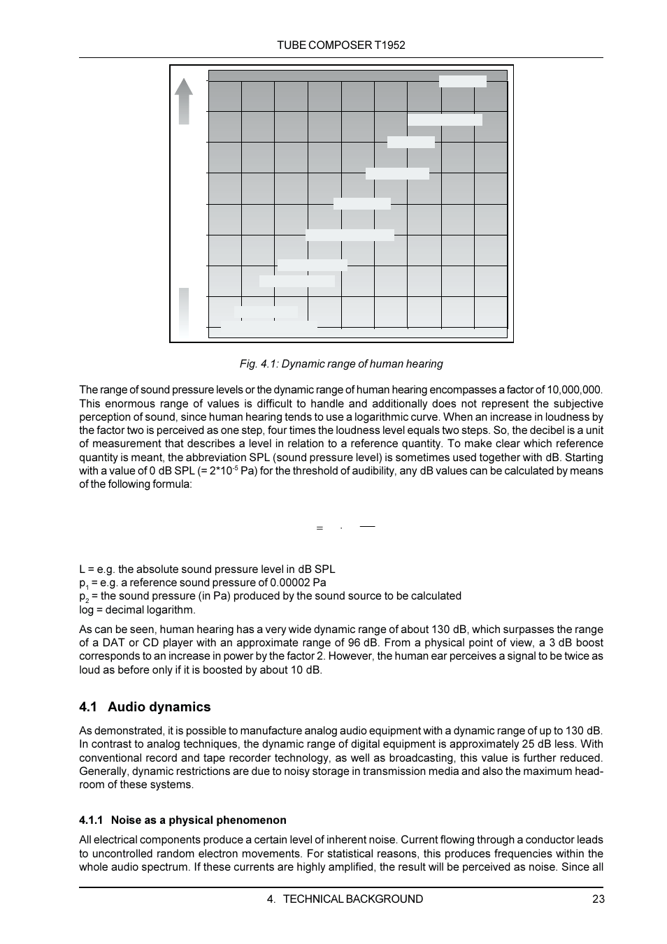 1 audio dynamics | Behringer T1952 User Manual | Page 23 / 34