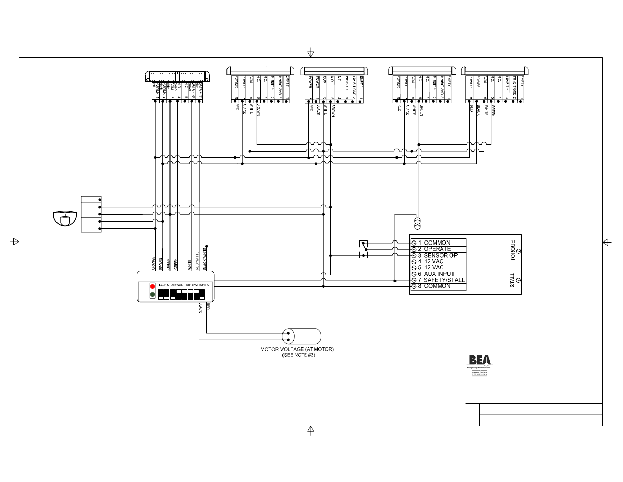 title, eagle, bodyguard | bea stanley dip switch i user manual | page 3 / 20