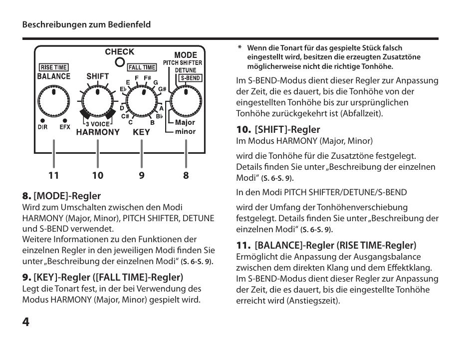 boss audio systems harmonist ps 6 user manual page 18 92 rh manualsdir com Boss PS-6 boss ps6 harmonist manual pdf