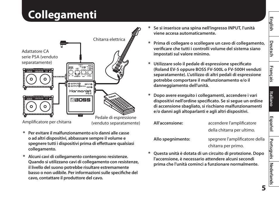 collegamenti boss audio systems harmonist ps 6 user manual page rh manualsdir com bose user manual boss dd 6 user manual