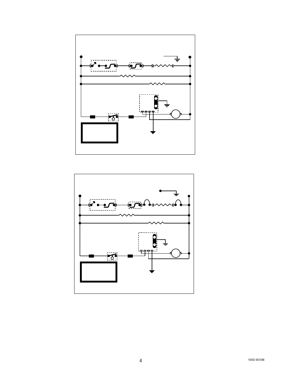 schematic wiring diagram hw2, schematic wiring diagram hw2a, wiring diagrams  | bunn hw2 user manual | page 4 / 4  manuals directory