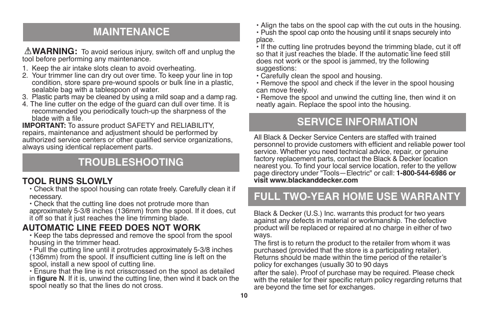 Black & Decker GH710 User Manual | Page 10 / 37 | Original mode