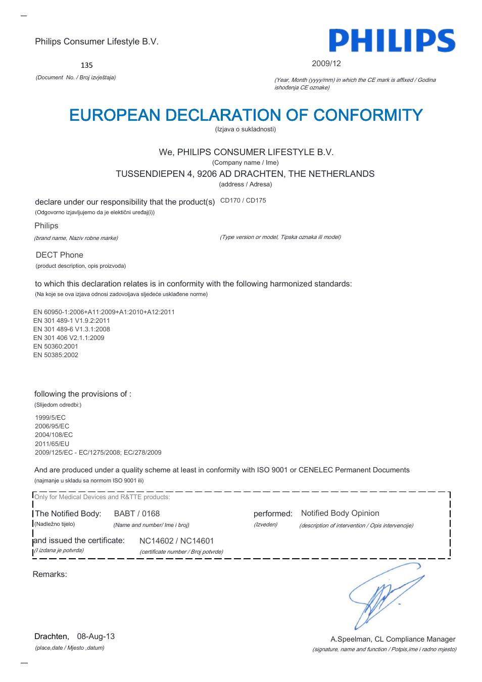 european declaration of conformity philips cd170 user manual rh manualsdir com philips cd 170 manual english philips cd 170 manual portugues