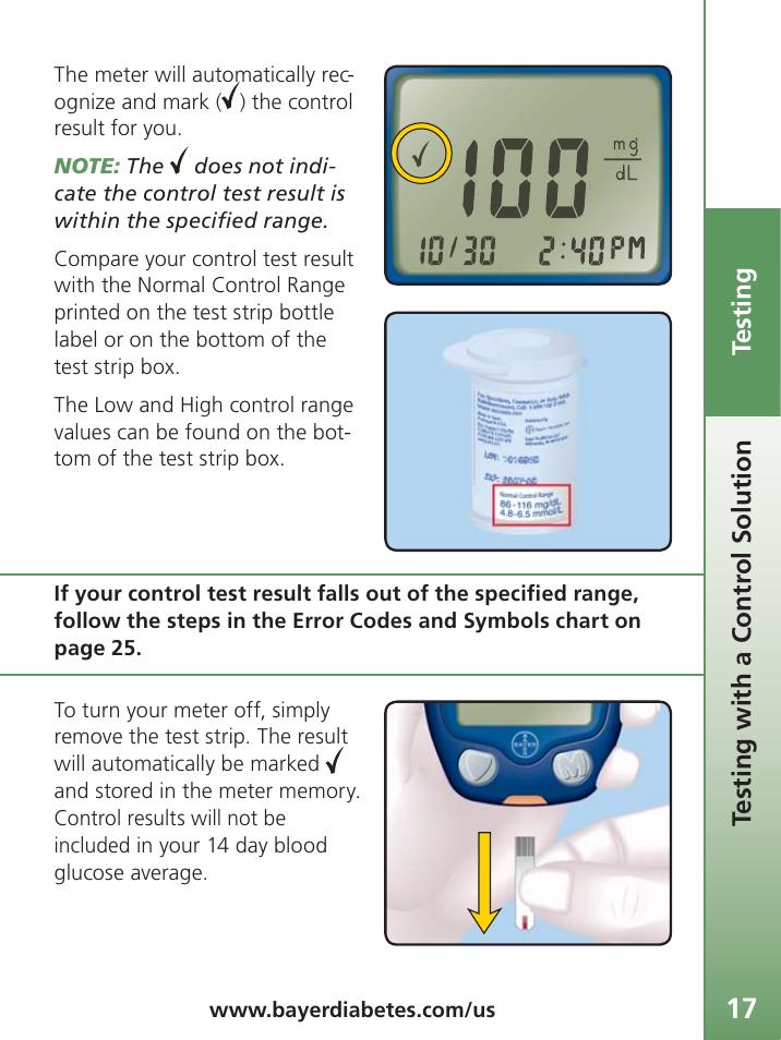 bayer contour ts user manual page 19 35 original mode rh manualsdir com Contour vs Contour TS Bayer Contour TS Monitoring Kit