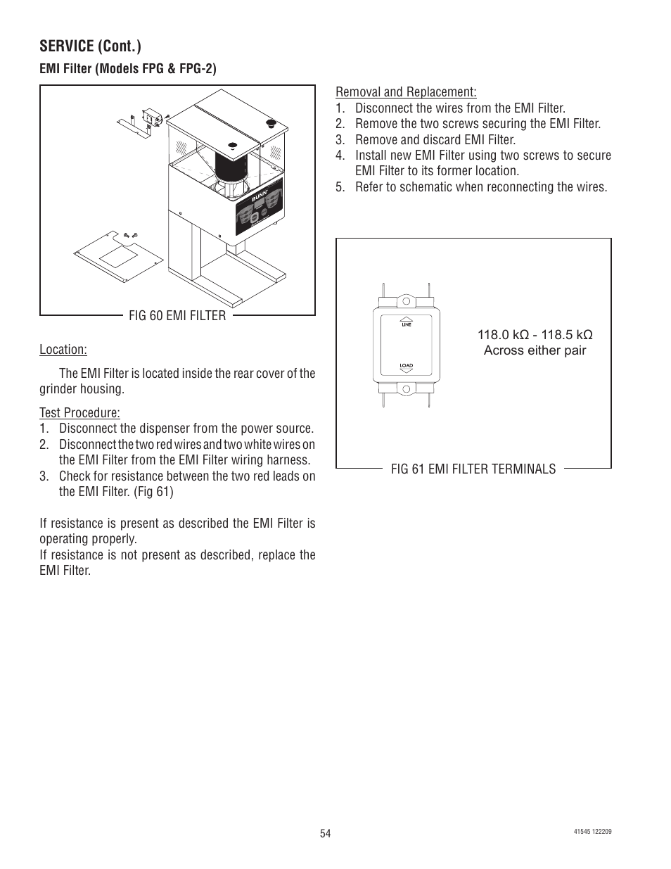 Service Cont Bunn G92t Dbc User Manual Page 54 79. Bunn G92t Dbc User Manual Page 54. Wiring. 5 3 Dbc Wiring Diagram At Scoala.co
