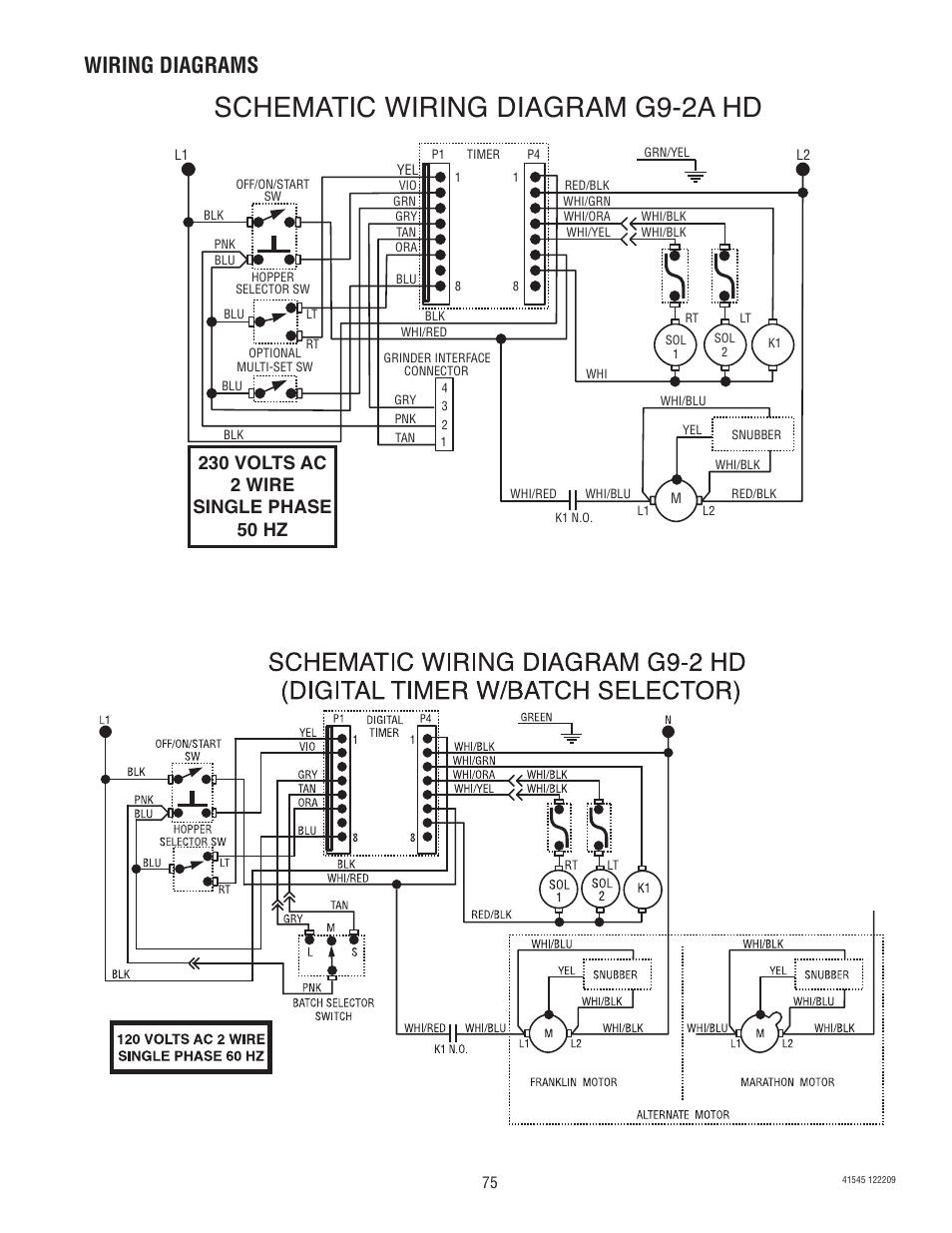 Bunn Single Wiring Diagram   Better Wiring Diagram Online on