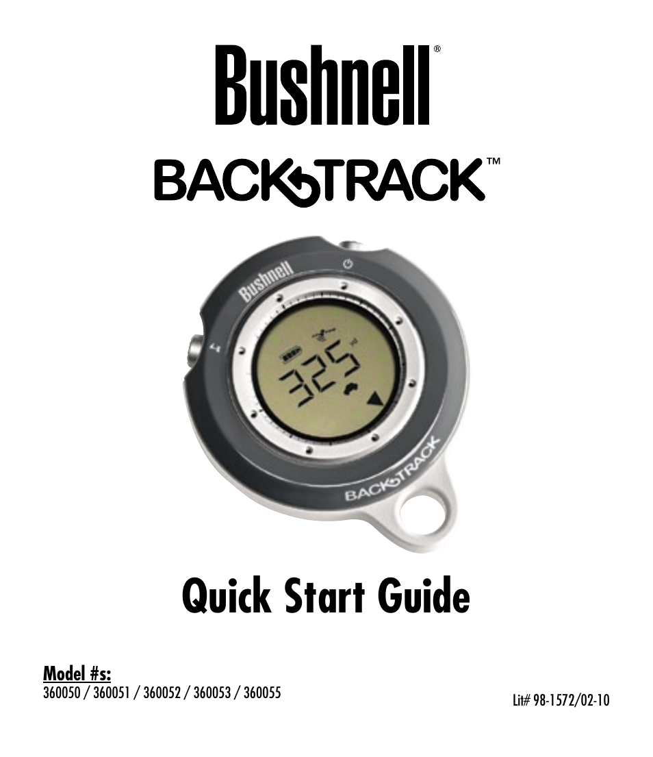 bushnell backtrack 360053 user manual 12 pages Sony User Manuals iPad User Guide