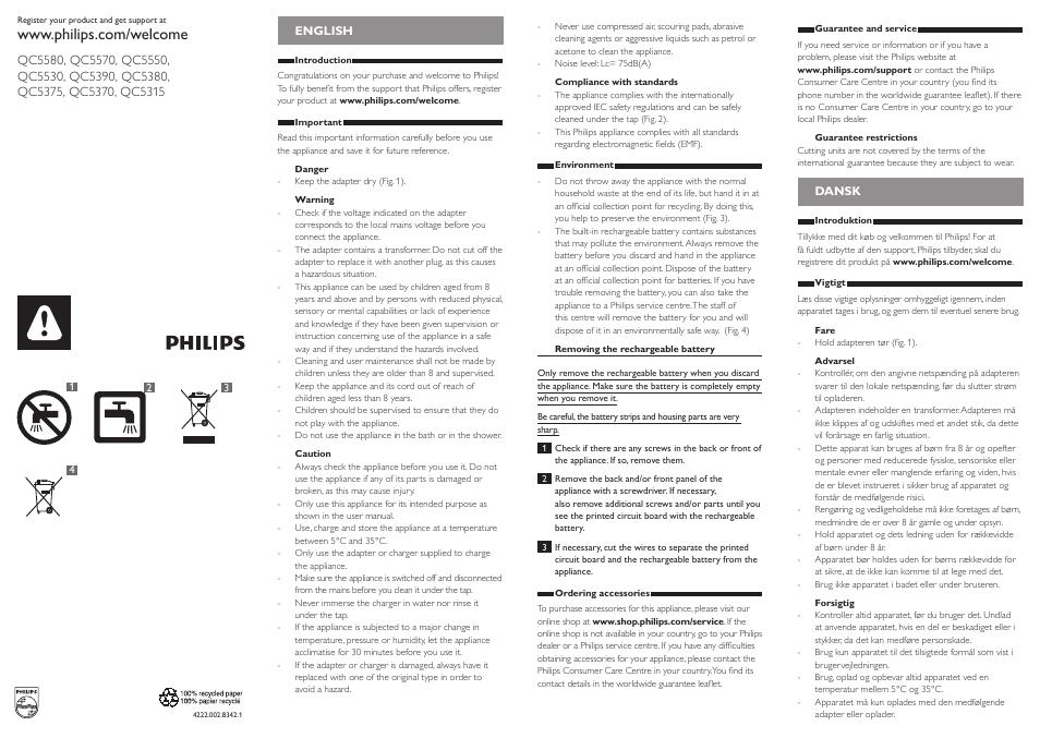philips do it yourself clipper se tondre les cheveux soi m me user rh manualsdir com Philips Flat TV Manual Philips User Guides