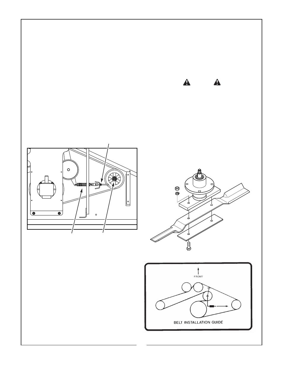 Bush Hog Air Tunnel Finishing Mower Ath 900 User Manual
