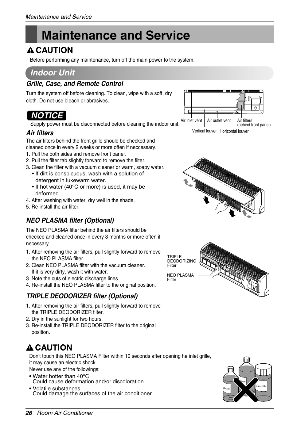Air conditioner: lg air conditioner manual.