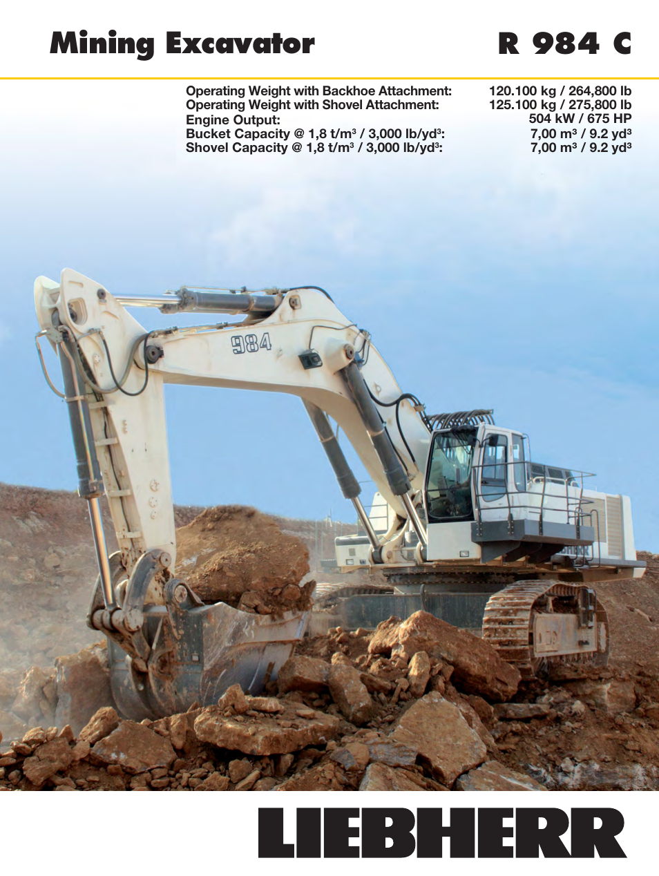 Liebherr R 984 C User Manual   30 pages