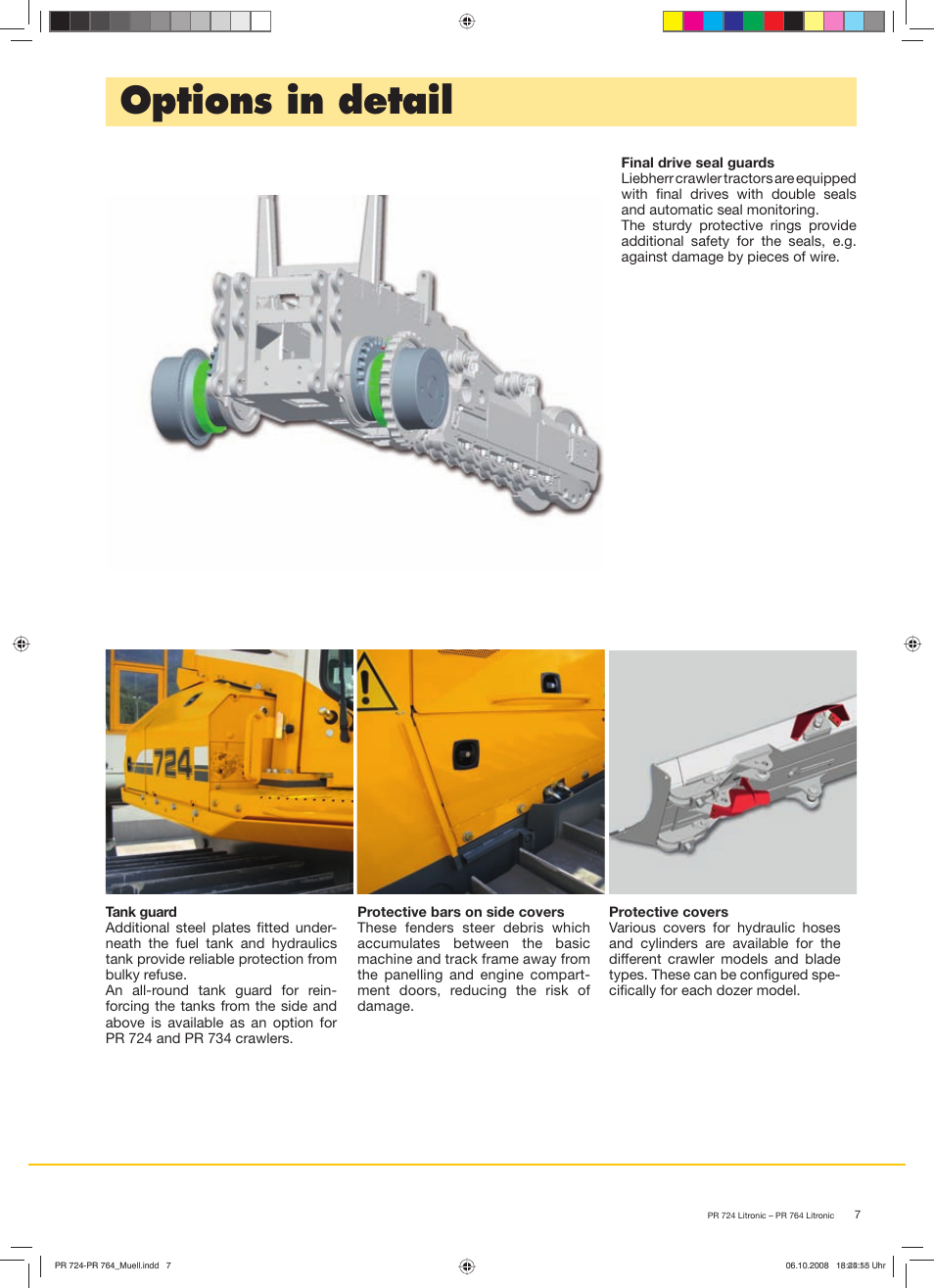 Options in detail | Liebherr PR 764 Litronic User Manual | Page 7 / 12