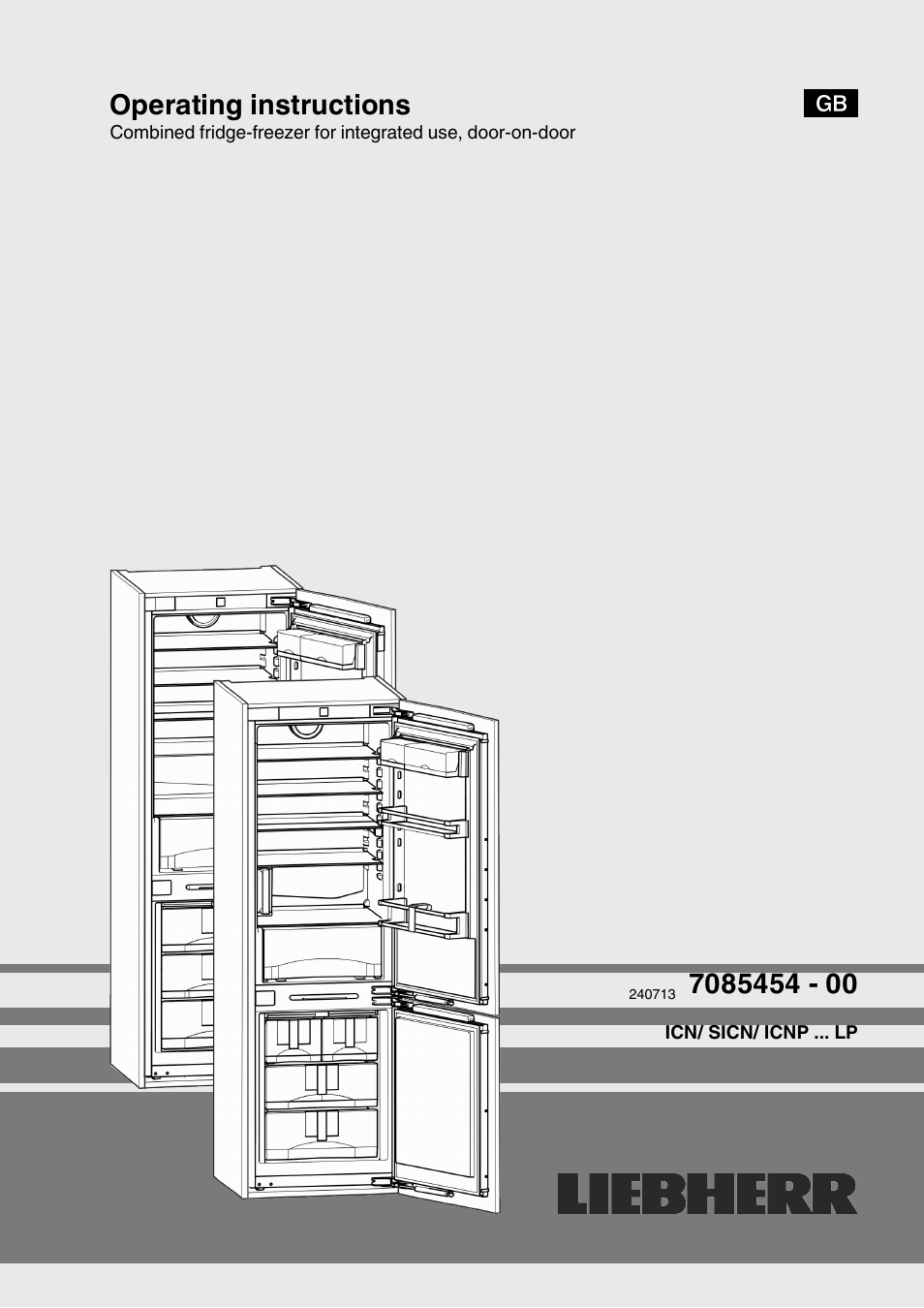 Liebherr Icn 3366 Premium Nofrost User Manual 12 Pages