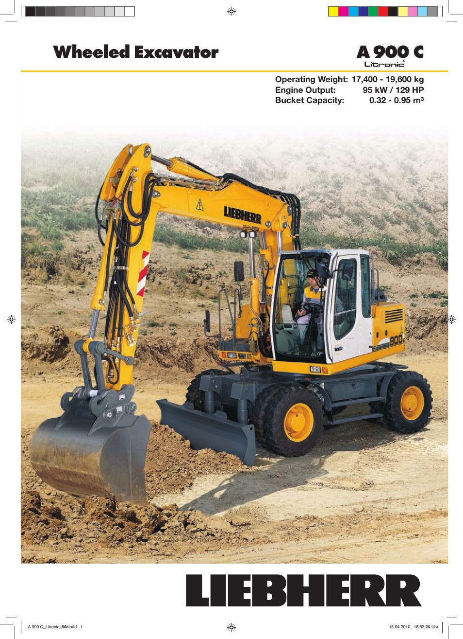 Liebherr A 900 C Litronic User Manual   32 pages