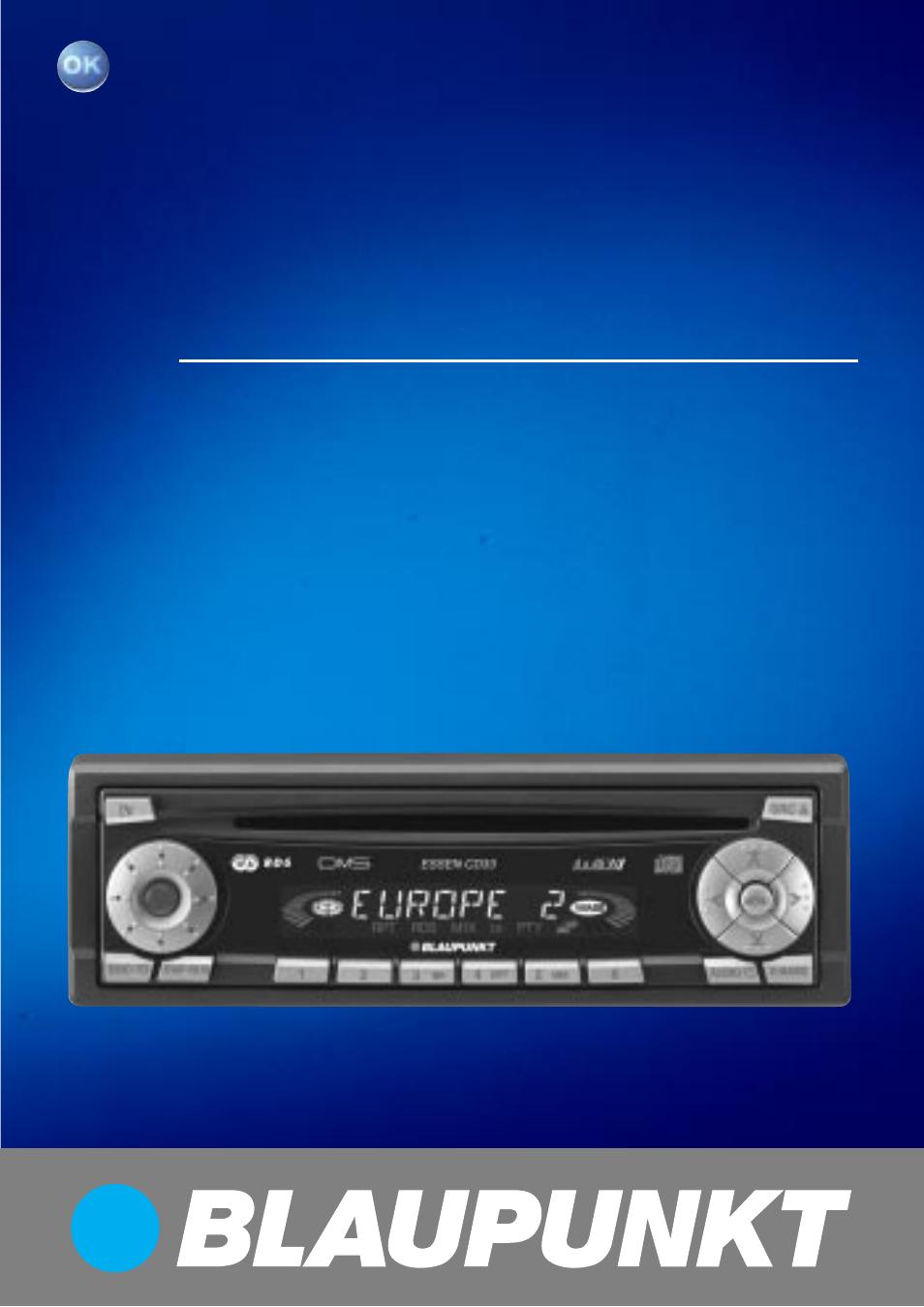 blaupunkt cd33 user manual 25 pages rh manualsdir com stereo blaupunkt laguna cd36 manual blaupunkt 520 car stereo manual