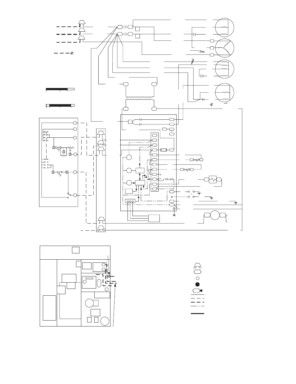 Bryant 582a User Manual Page 18 36 Blower Motor Wiring