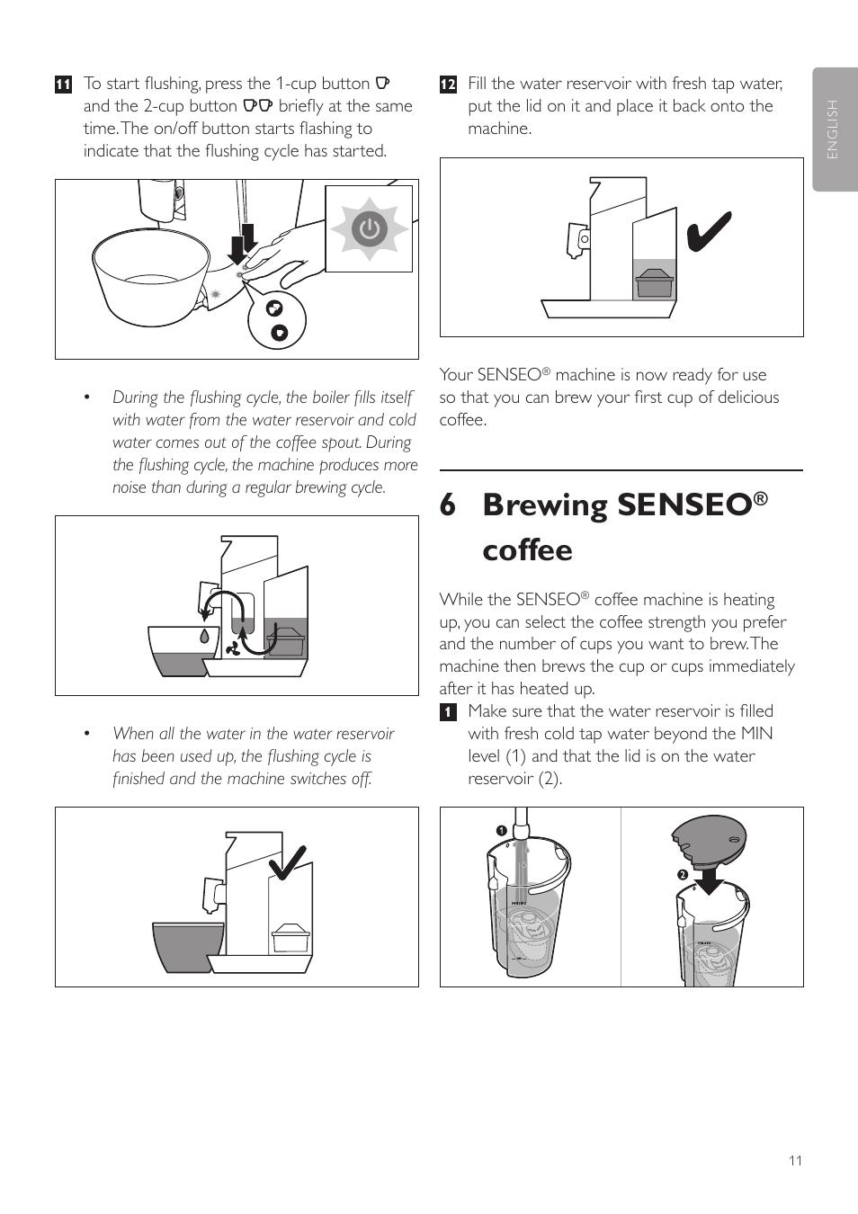 6 brewing senseo, Coffee   Philips SENSEO® Twist