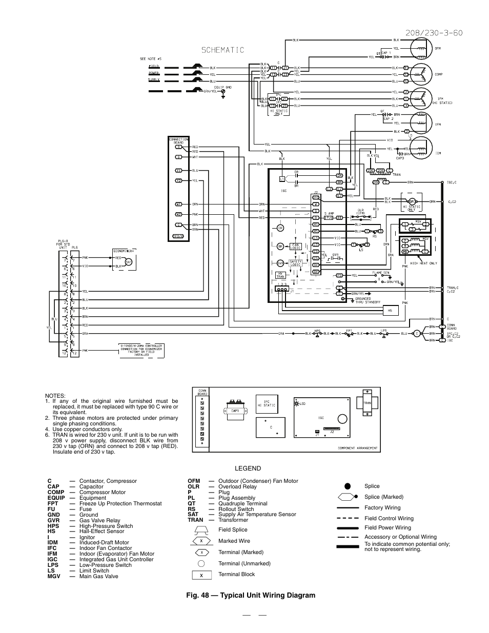 Bryant Condenser Wiring Diagram For Thermostat Page 6
