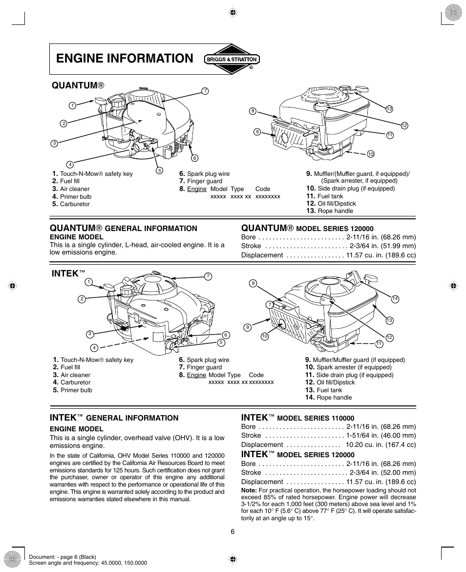 11 Hp Briggs And Stratton Engine Diagram On 5 7 Hp Briggs Engine