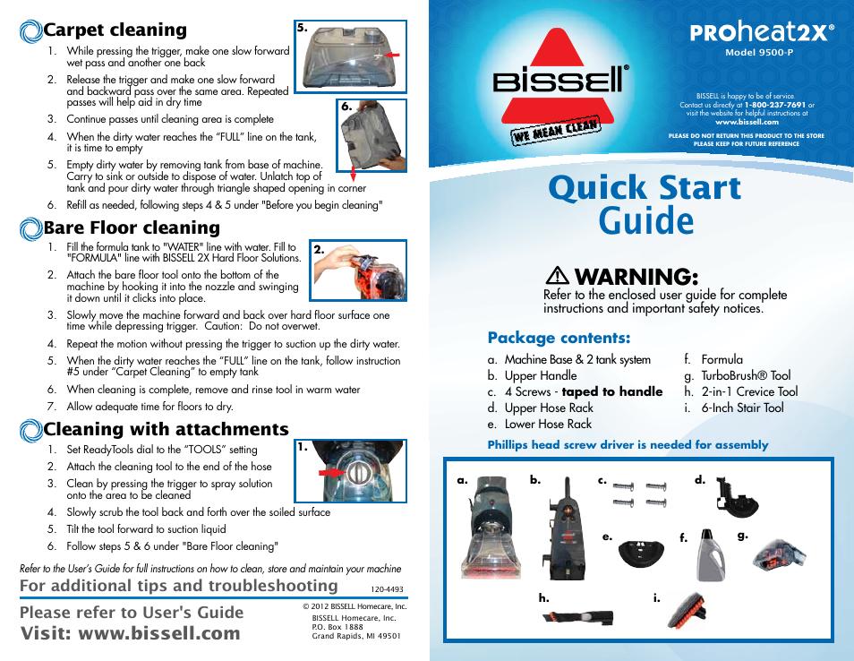 Bissell Proheat 2x Repair Manual Manual Guide