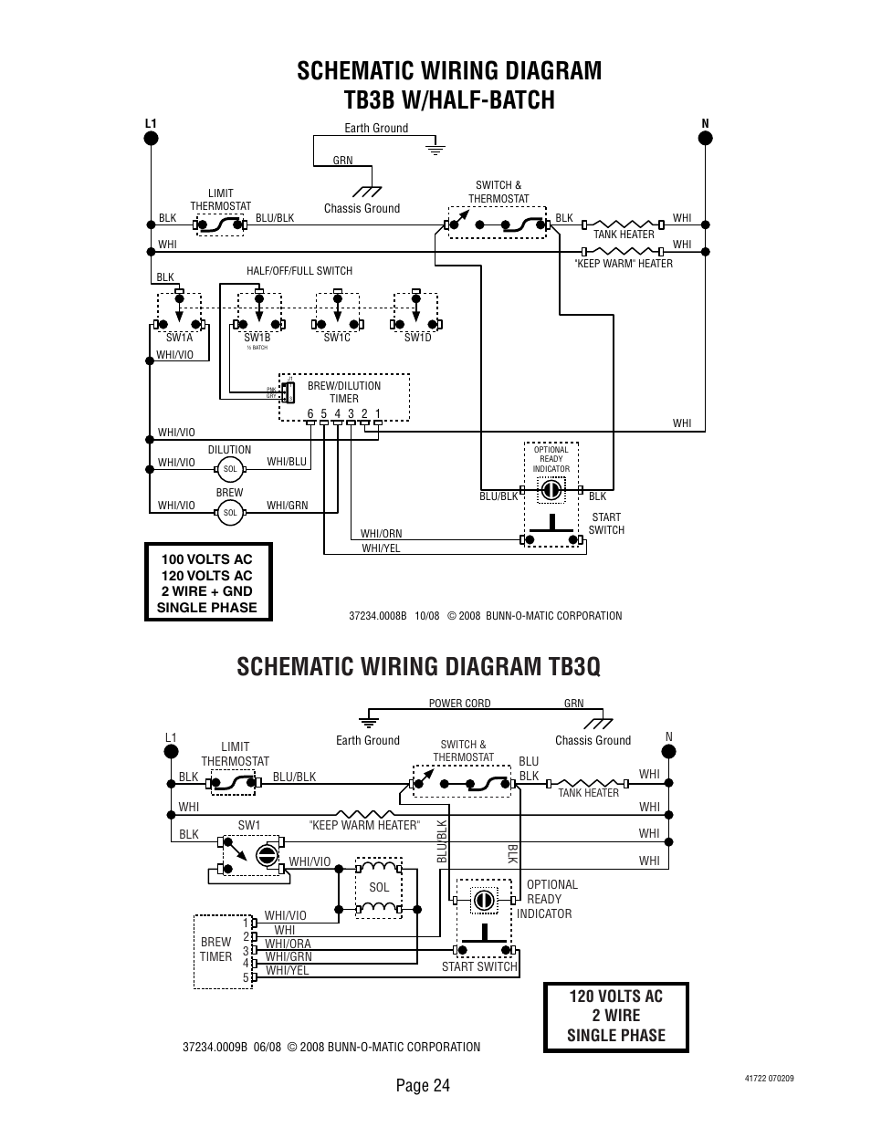 Schematic Wiring Diagram Tb3b W  Half