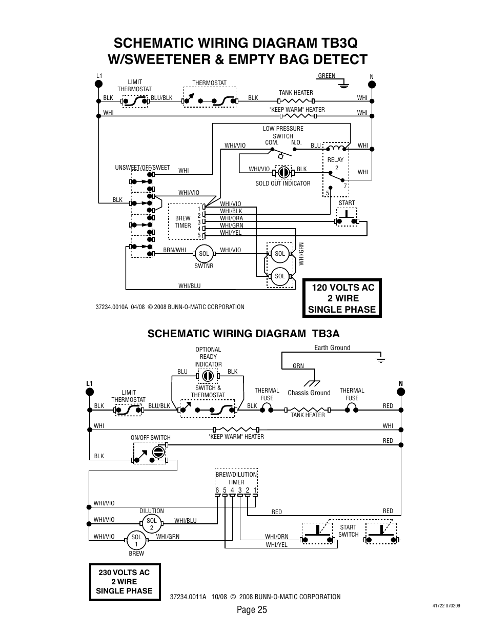 bunn wiring diagram data wiring diagram preview Circuit Diagram