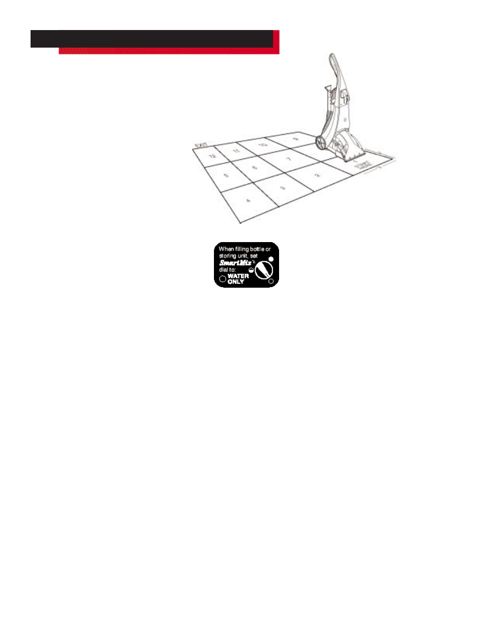 How to clean carpets, Machine preparation, Pre-treating (optional) | Bissell  POWERSTEAMER PROHEAT PLUS 16981 User Manual | Page 10 / 18