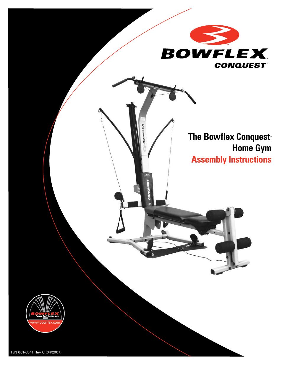 Sensational Bowflex Conquest Home Gym Gymtutor Co Download Free Architecture Designs Scobabritishbridgeorg