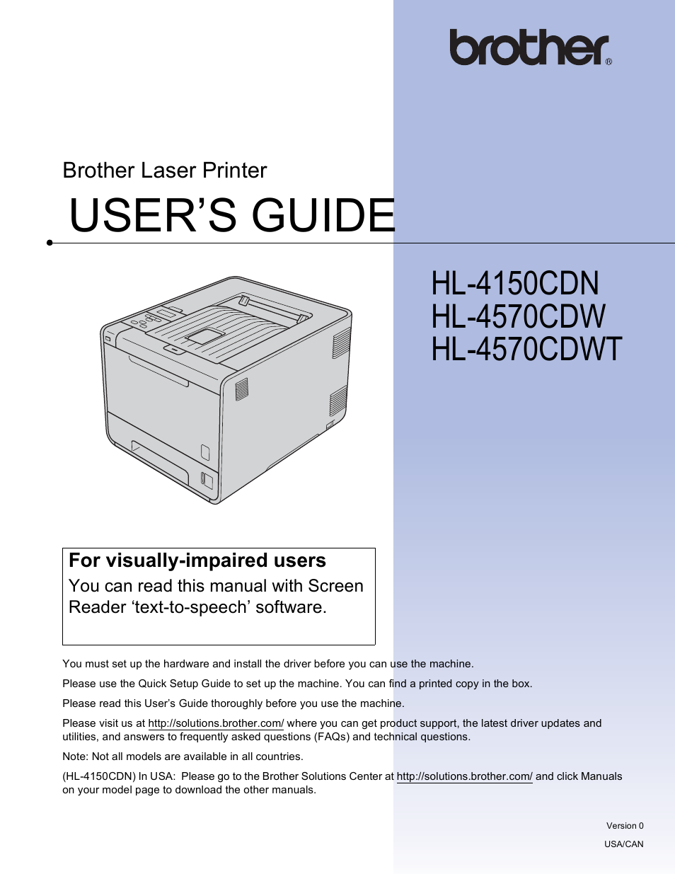 brother hl 4150cdn user manual 199 pages also for hl 4570cdw rh manualsdir com brother hl 4570cdw service manual brother hl-4570cdw manual