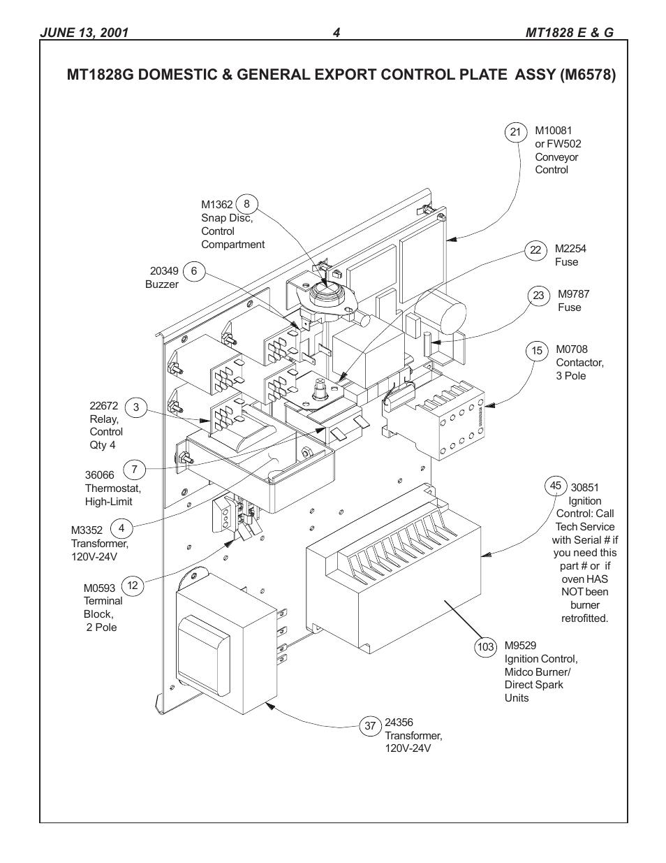Blodgett Mark V 111 Wiring Diagram Schematics Crown Boiler Oven Parts Manuals Data Diagrams U2022