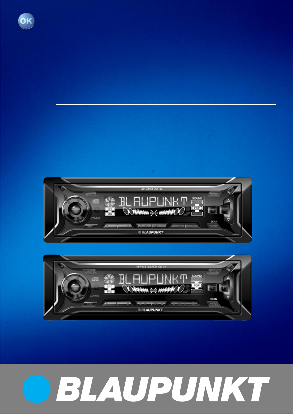 Blaupunkt Atlanta CD34 User Manual | 84 pages | Also for: Venice Beach CD34