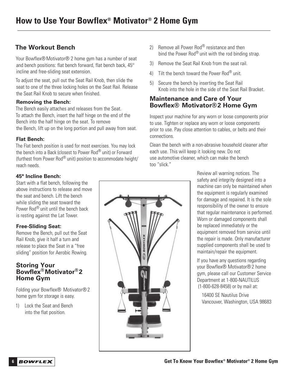 Surprising How To Use Your Bowflex Motivator 2 Home Gym Bowflex Download Free Architecture Designs Scobabritishbridgeorg