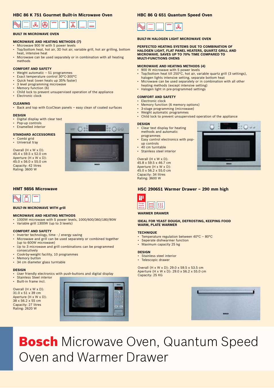 Bosch Oven Carriage User Manual Page