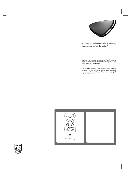 Micro hi-fi system | Philips MC-220-37B User Manual | Page 2