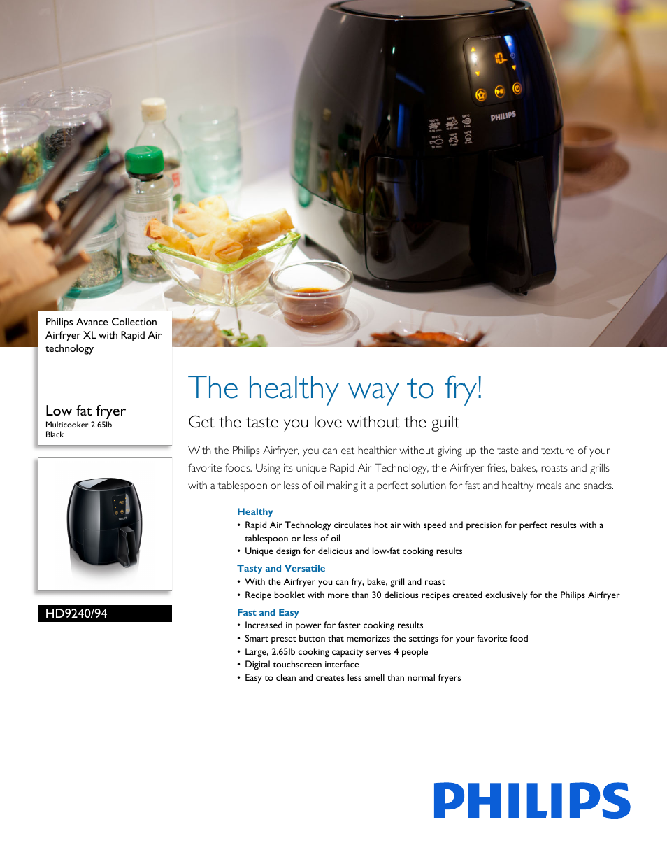 philips avance collection airfryer xl hd9240 94 low fat fryer rh manualsdir com philips airfryer hd9220 user manual philips airfryer hd9220 user manual