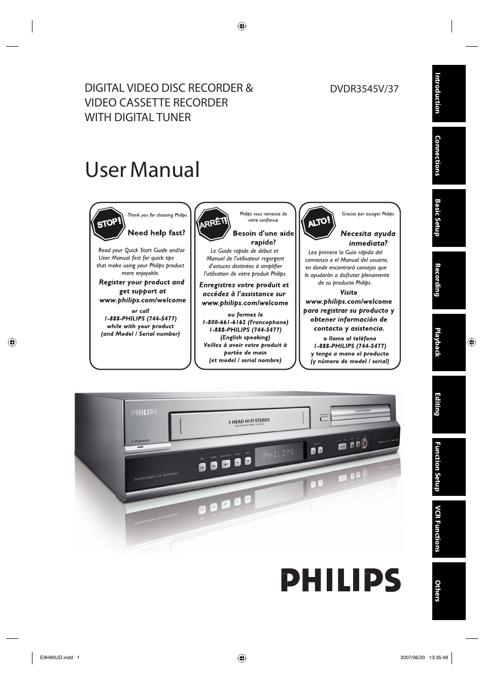 philips dvdr3545v 37 user manual 116 pages also for dvdr3545v 37b rh manualsdir com Philips Universal Remote SRP2003 27 Manual Philips Electronics Manuals