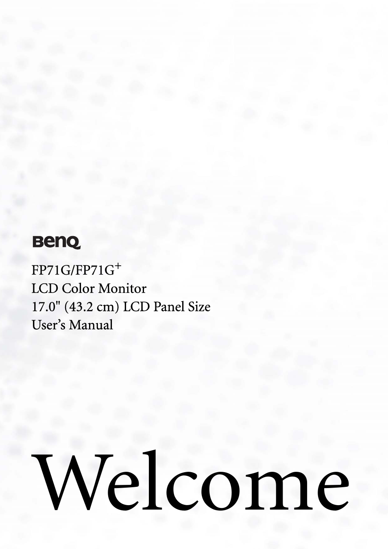 benq fp71g user manual 32 pages rh manualsdir com