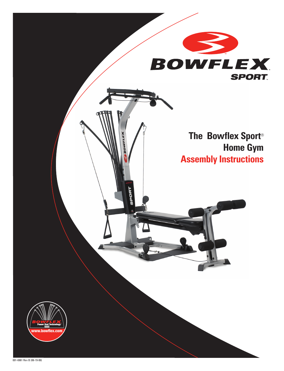 Bowflex Sport Home Gym User Manual