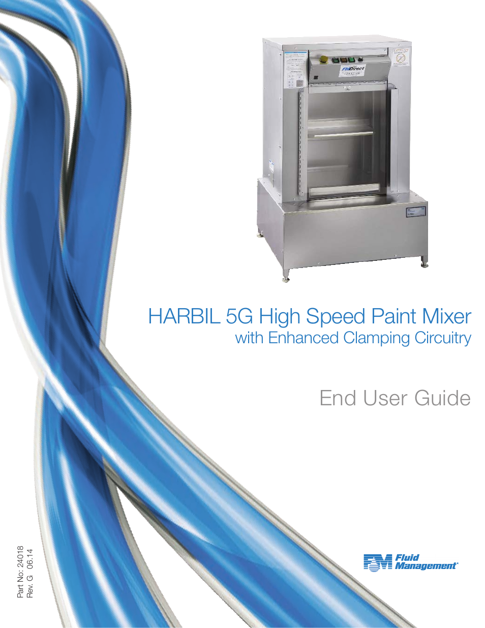 Fluid Managet 5G-HD Harbil 5-Gallon Shaker User Manual | 81 pages