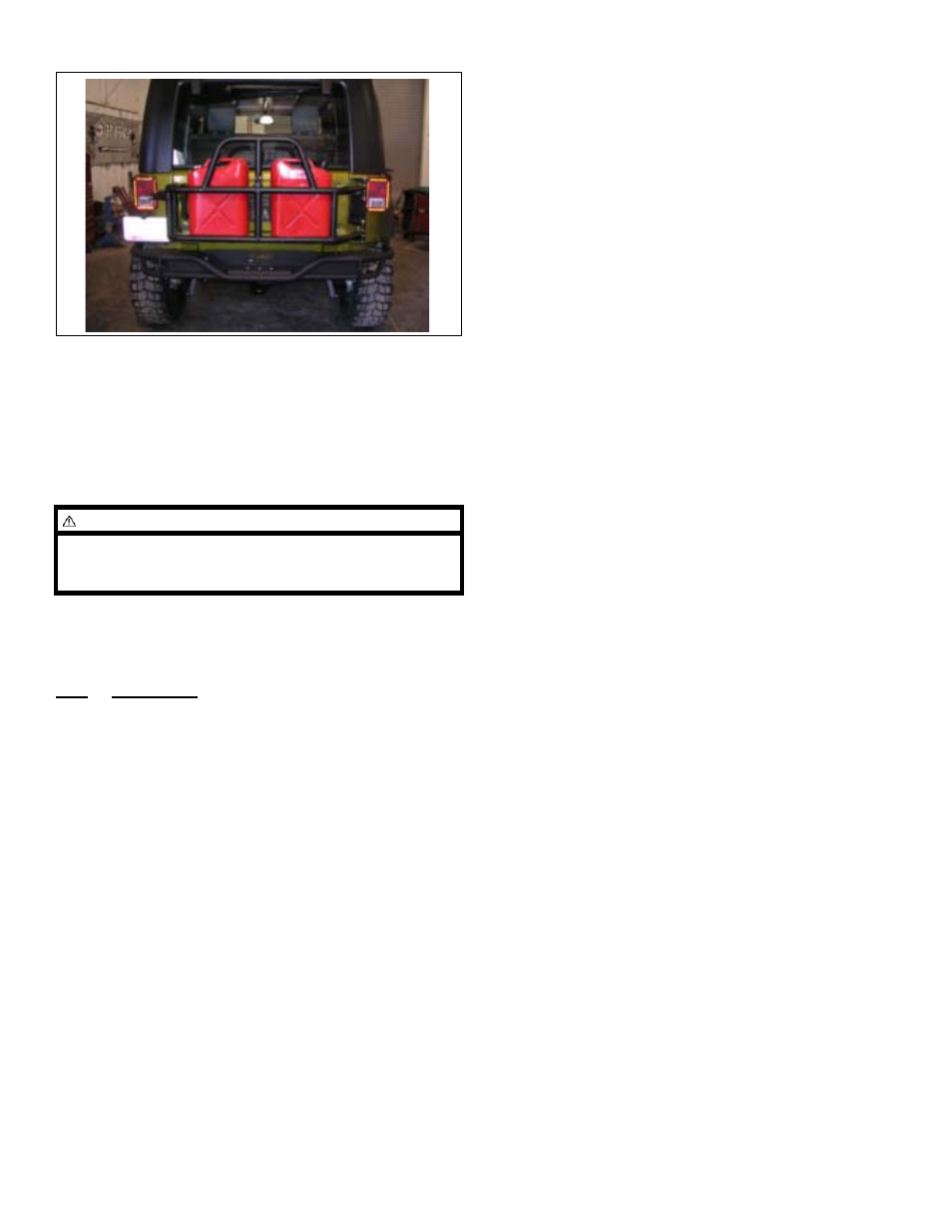 jeep spare parts list