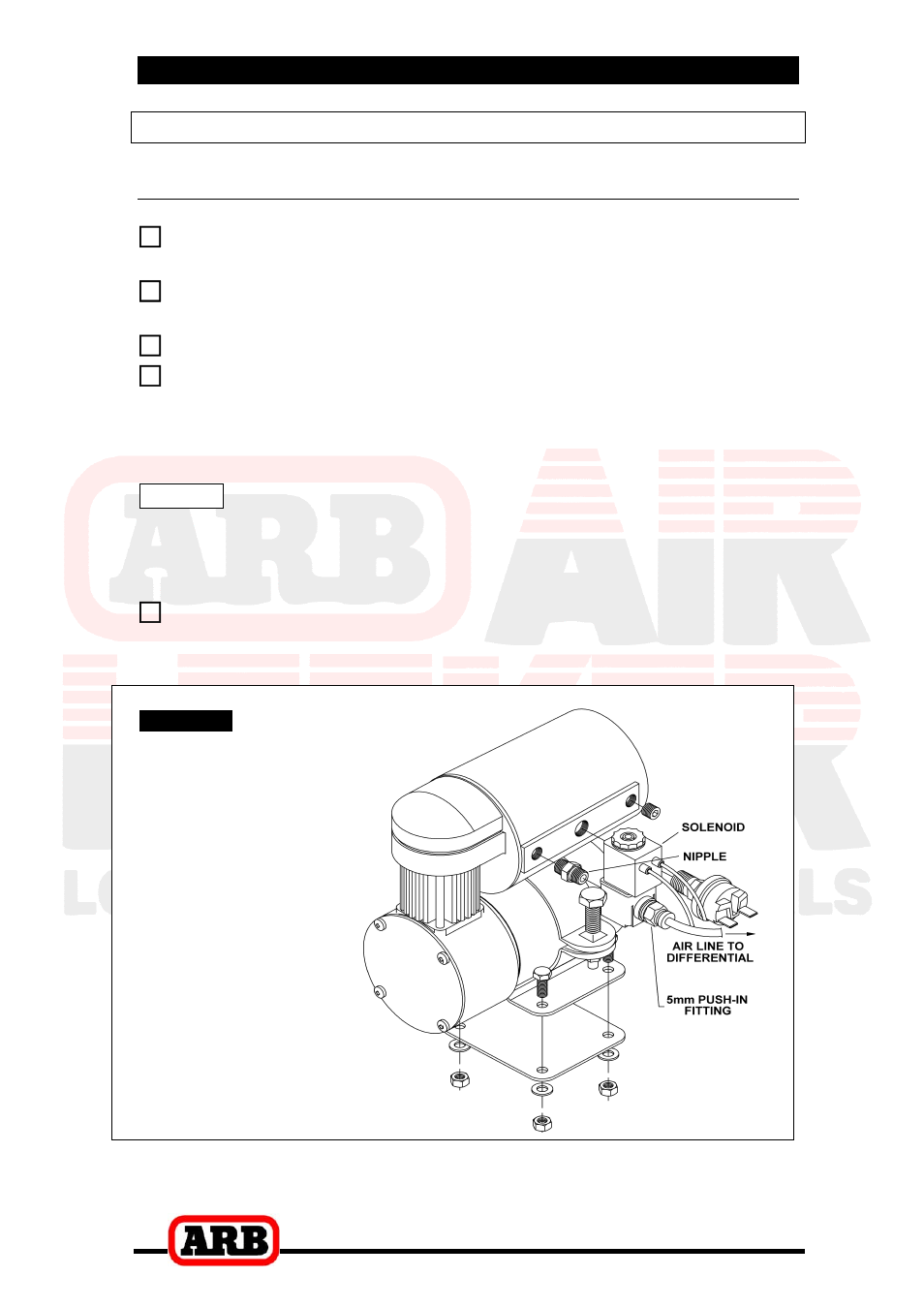 Arb Compressor Wiring Diagram Schematic Wire Center Air Rd142 User Manual Page 24 38 Original Mode Rh Manualsdir Com Locker