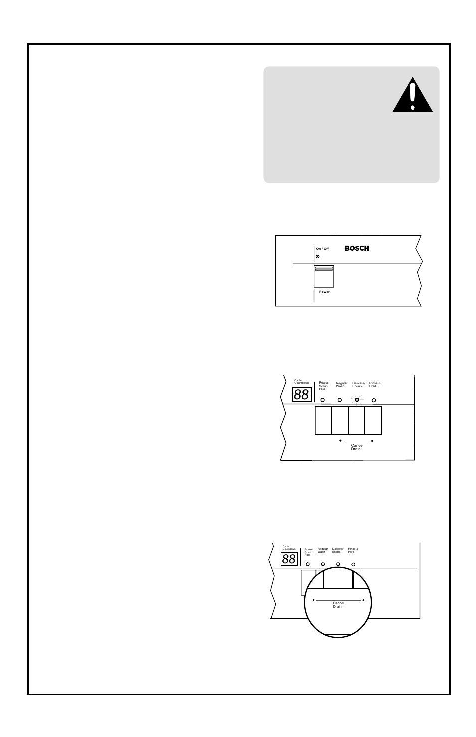 20 - english, Interrupting, changing or cancelling a cycle