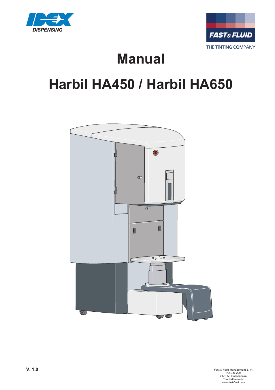 Fast & Fluid HA650 User Manual | 32 pages | Also for: HA450