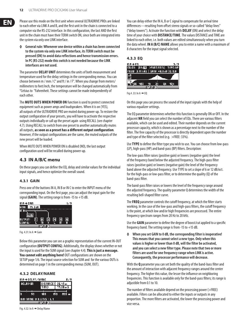 behringer ultradrive pro dcx2496 user manual page 12 35 rh manualsdir com Behringer X32 Mixer Behringer Ultradrive Pro DCX2496 Manual